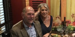 Roger and Maureen owners of The CablesB & B Matlock Bath